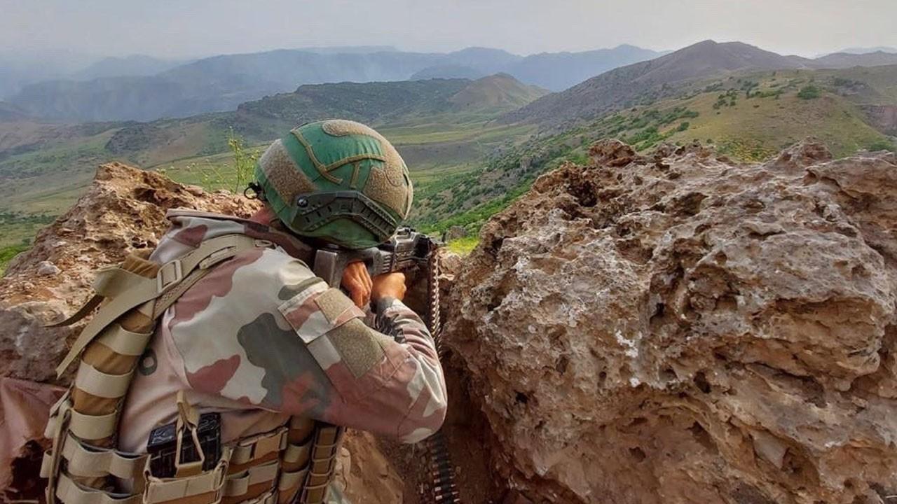 Pençe-Yıldırım'da 2 PKK'lı etkisiz hâle getirildi