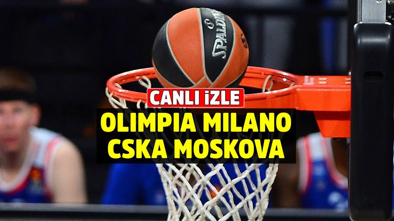 Olimpia Milano CSKA Moskova Canlı