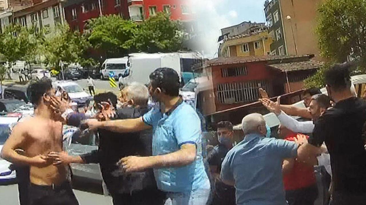 İki aile birbirine girdi, polis havaya ateş açtı!