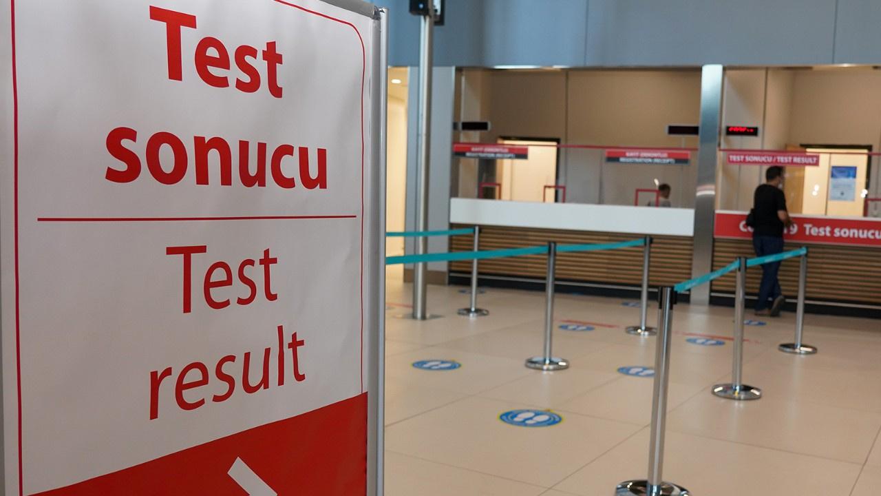 Havalimanı'nda PCR testi sonuç süresi kısaldı