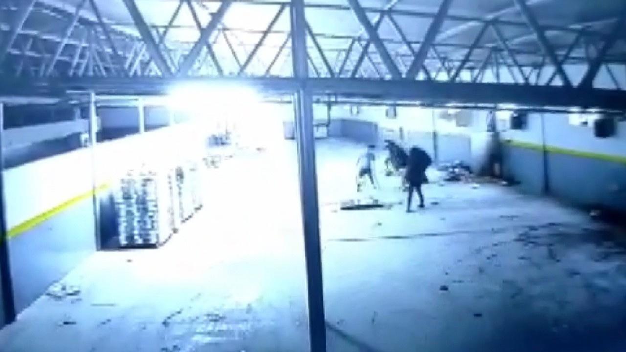 Fabrikanın elektrik panosu bomba gibi patladı