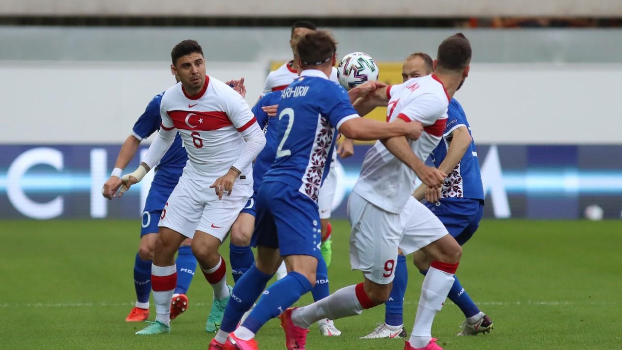 A Milliler Moldova ile Euro2020 provası yaptı