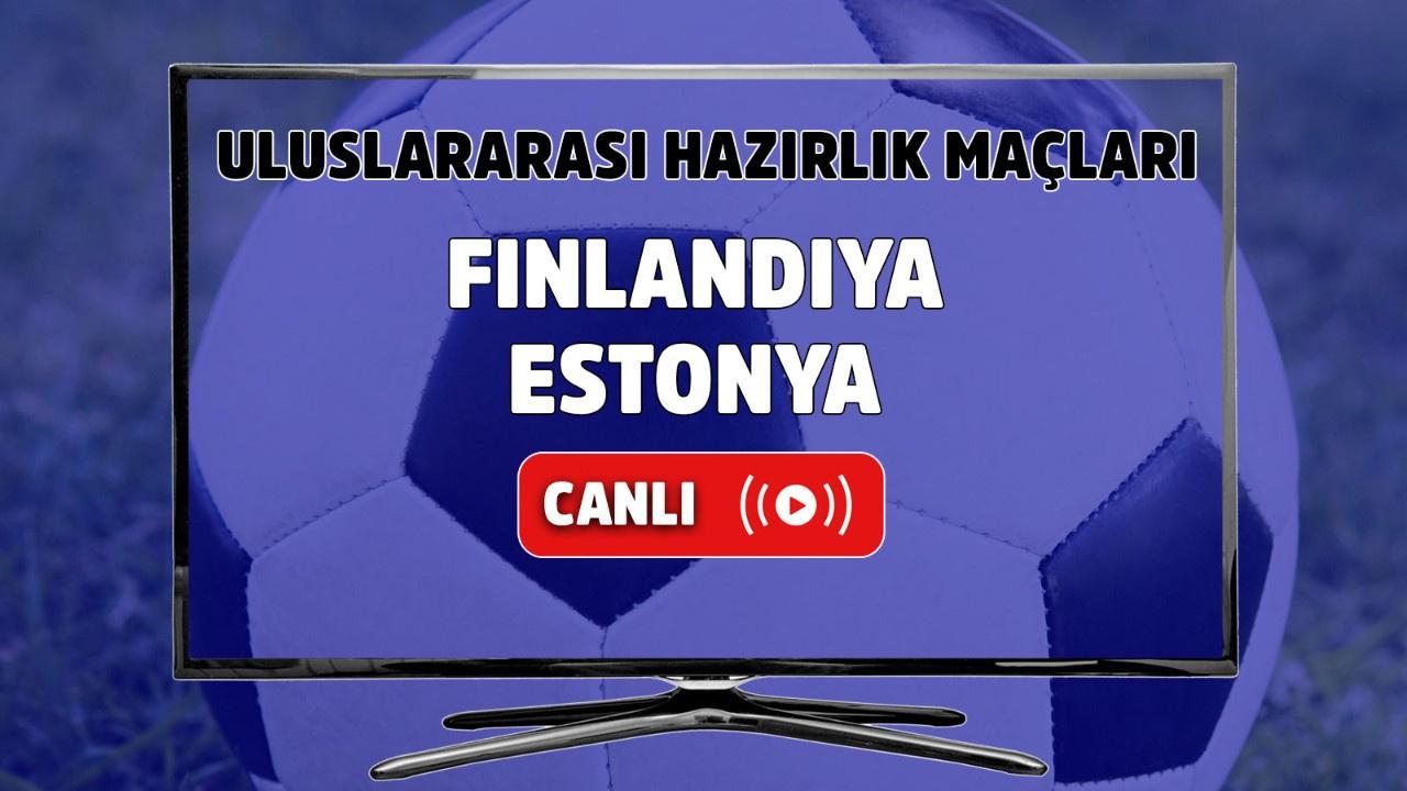 Finlandiya - Estonya Canlı