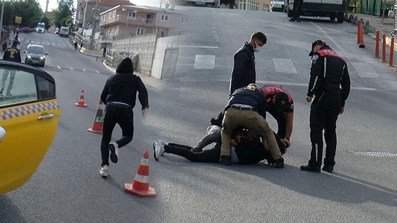 İstanbul'da nefes kesen an! Böyle yakalandı