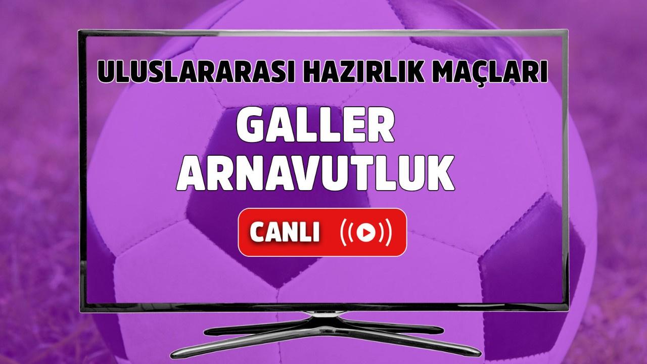 Galler - Arnavutluk Canlı