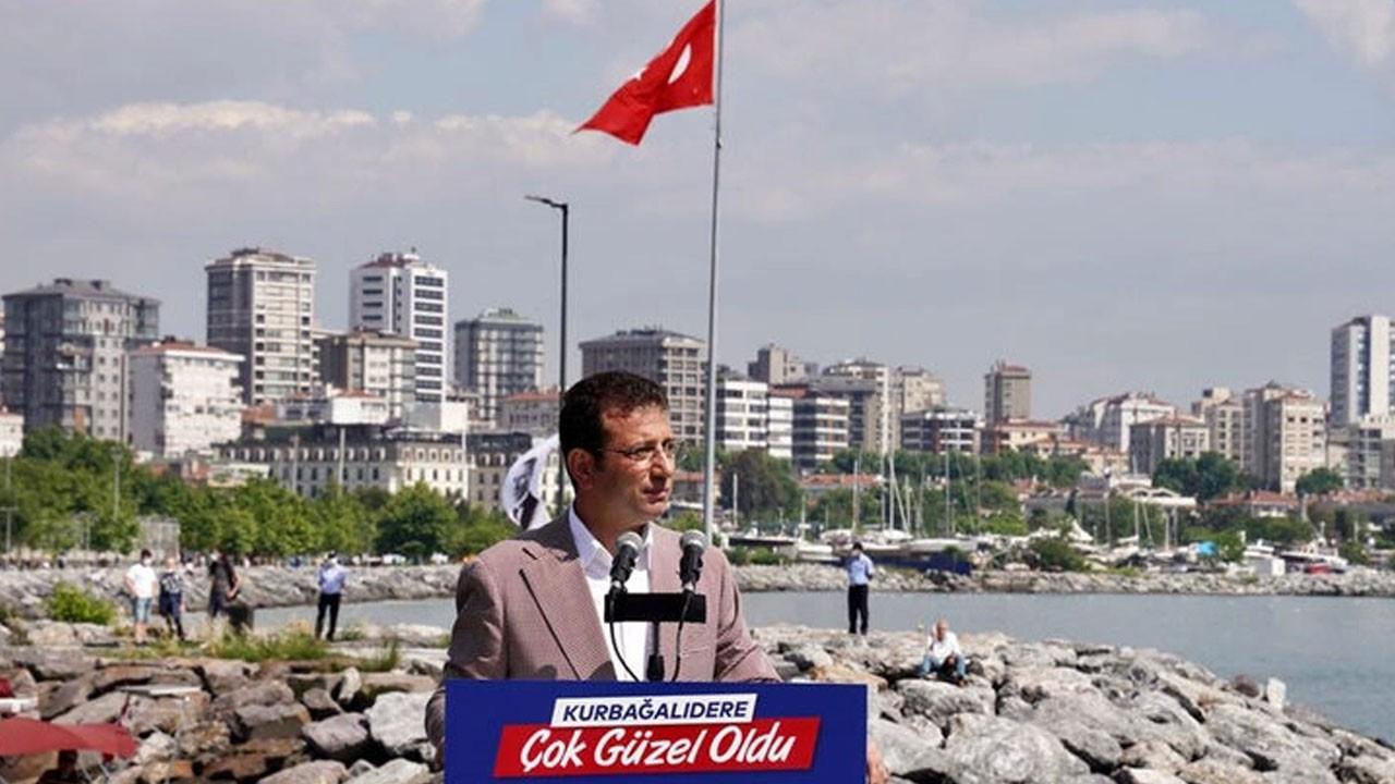 İmamoğlu'ndan 'Marmara Denizi' açıklaması
