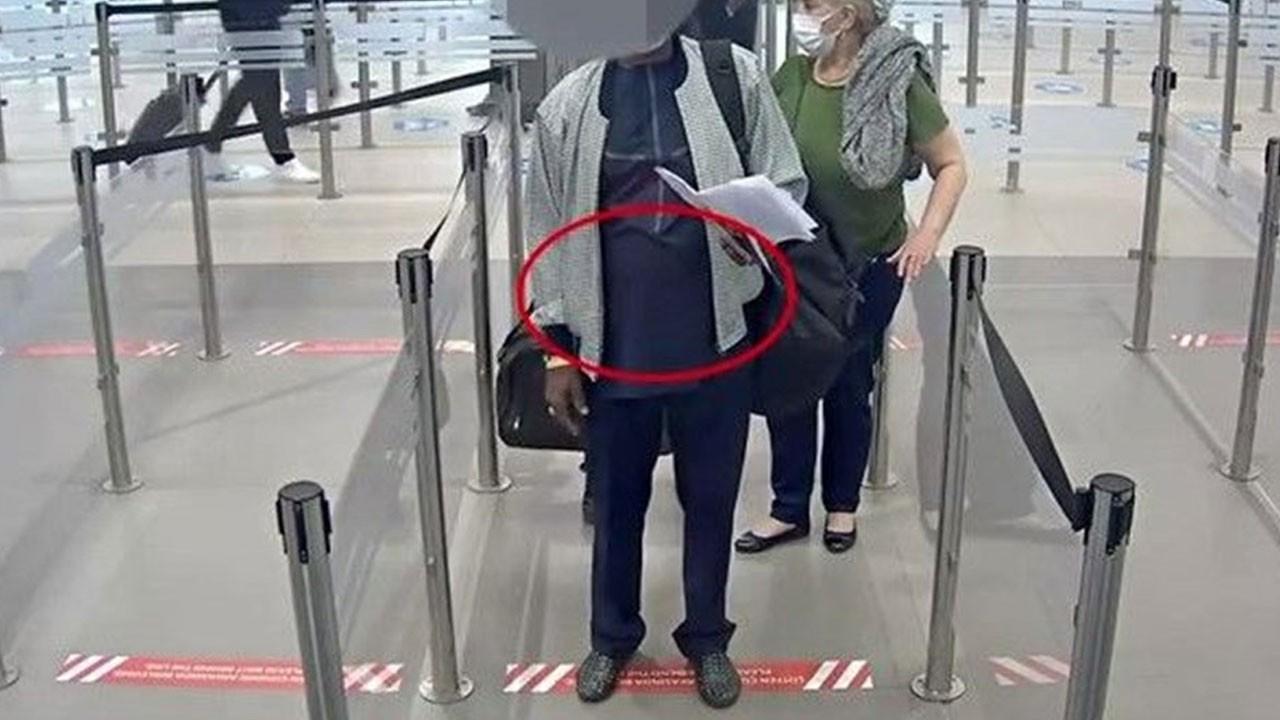 İstanbul Havalimanı'nda yolcunun midesinden çıktı!