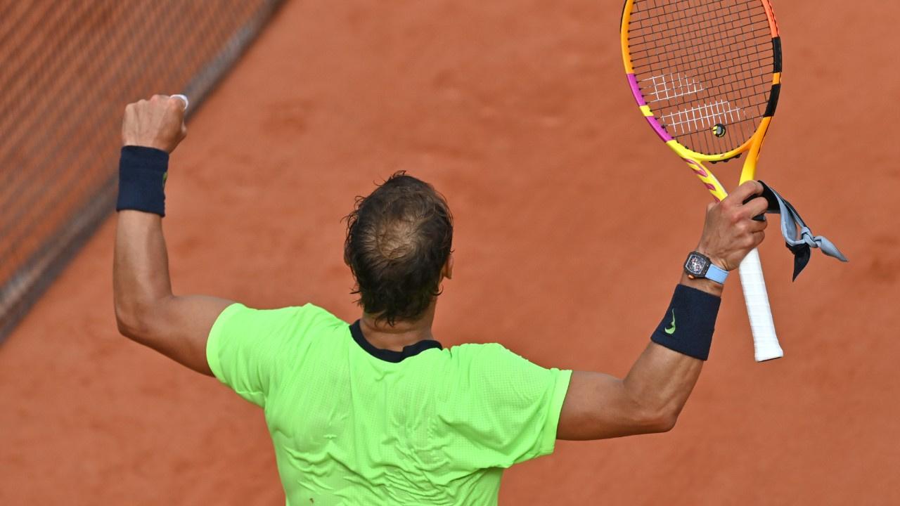 Roland Garros efsanesi Nadal çeyrek finalde