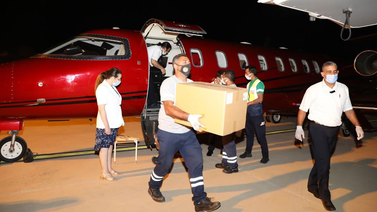 Türkiye'den KKTC'ye 50 bin doz aşı gönderildi