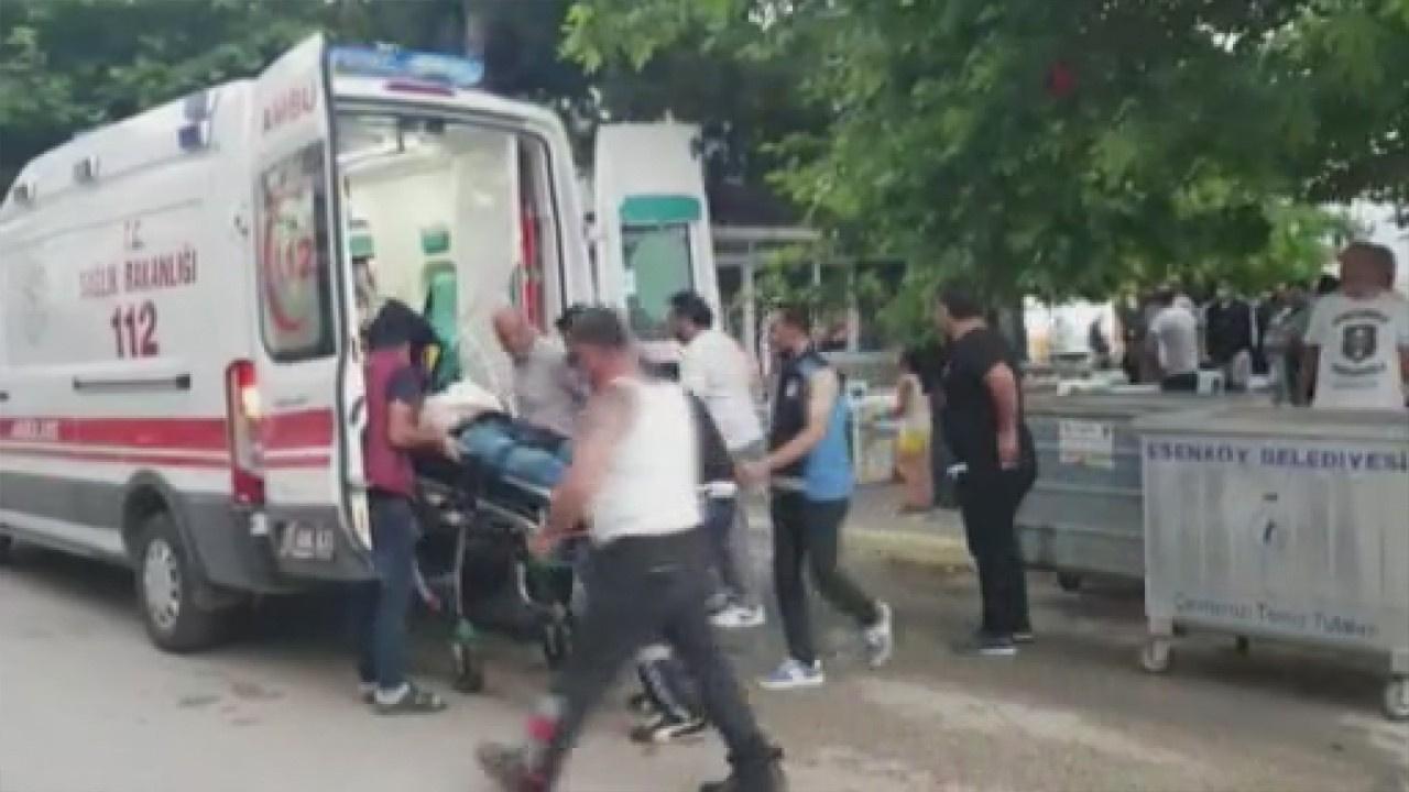Minibüs sırası cinayeti! Kasaturayla saldırdı!