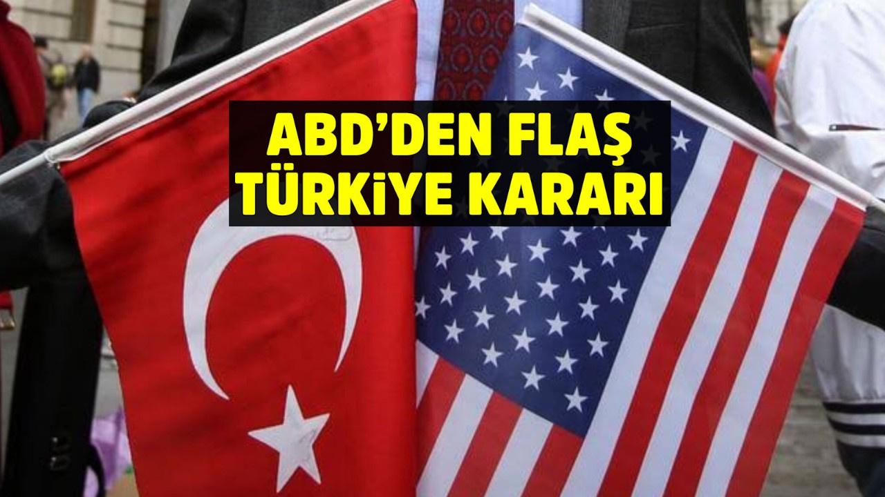 ABD'den flaş Türkiye kararı! 'Seyahat etmeyin' kararı 'gözden geçirin'e revize edildi
