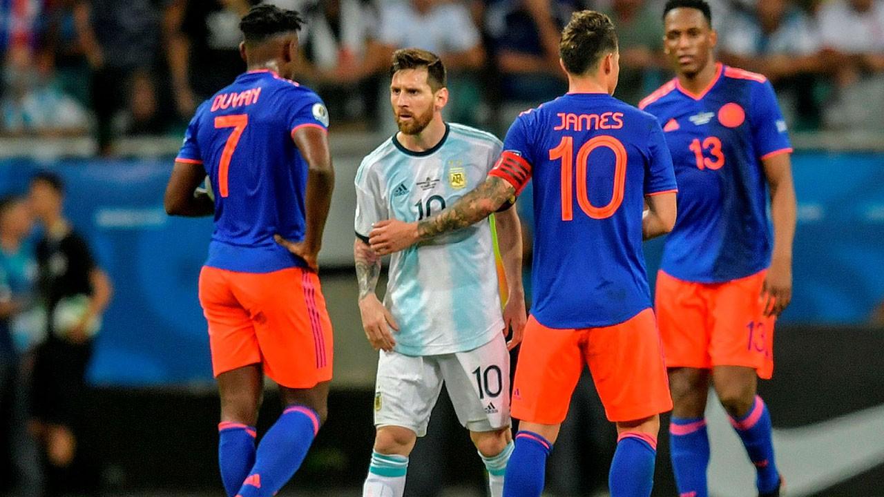 Kolombiya 2 Arjantin 2