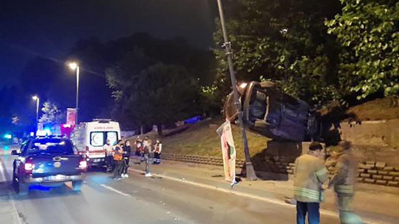İlginç kaza! Gören inanamadı