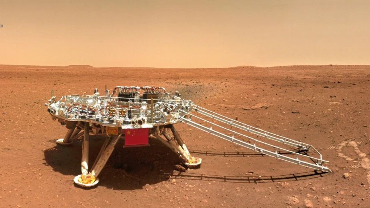 Çinli keşif aracından Kızıl Gezegen fotoğrafları