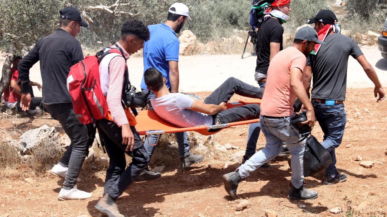 İsrail'den Filistinlilere sert müdahale: 1 ölü