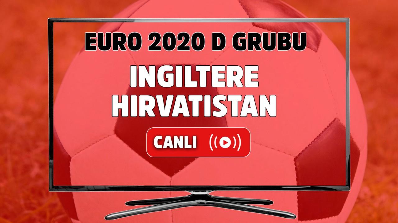 İngiltere - Hırvatistan Canlı maç izle
