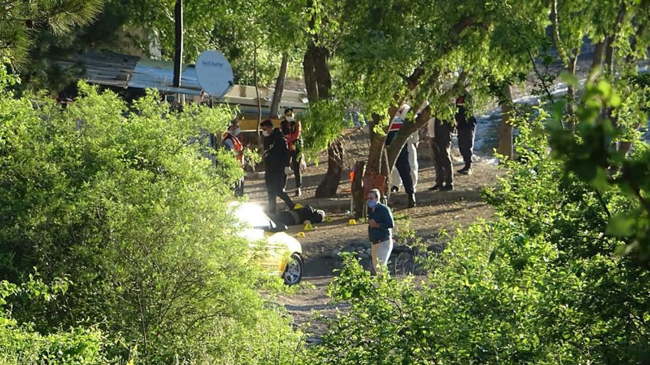 Bafra'da karavanda cinayet: 3 ölü