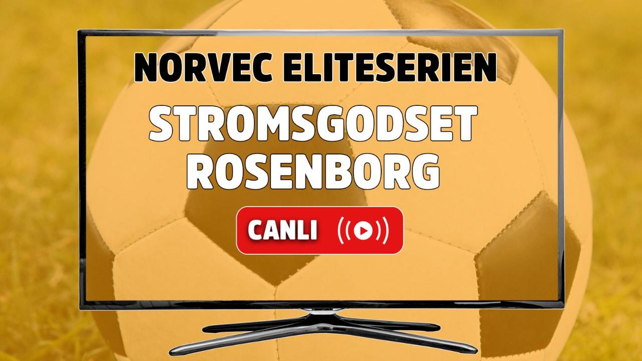 Stromsgodset - Rosenborg Canlı maç izle