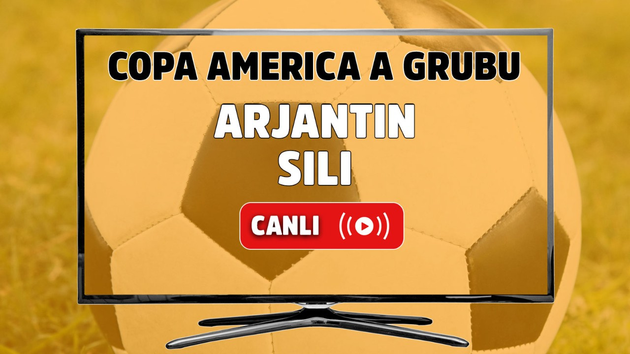 Arjantin - Şili Canlı maç izle