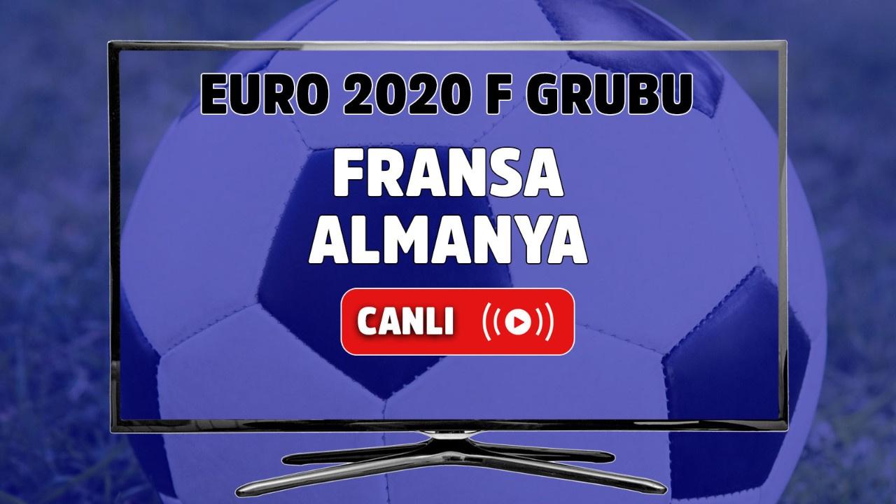 Fransa - Almanya Canlı maç izle