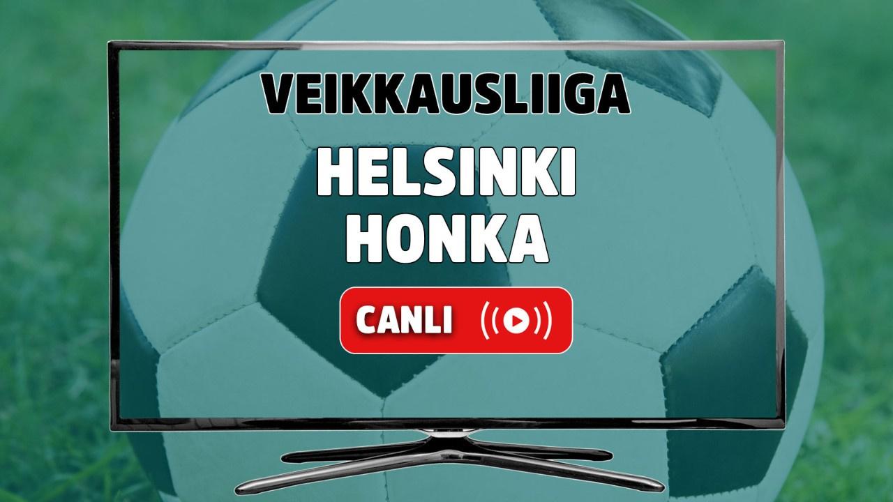 Helsinki - Honka Canlı maç izle