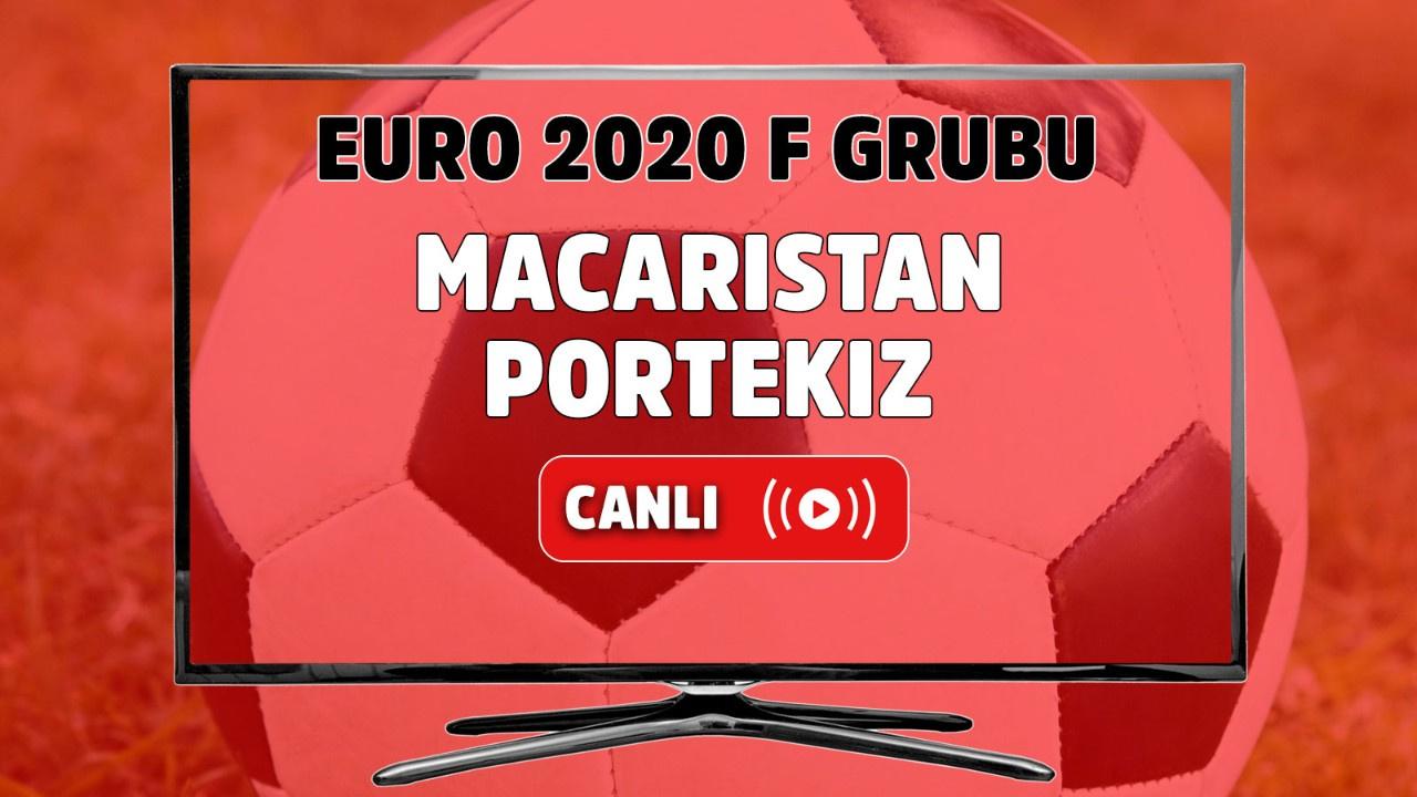 Macaristan - Portekiz Canlı maç izle