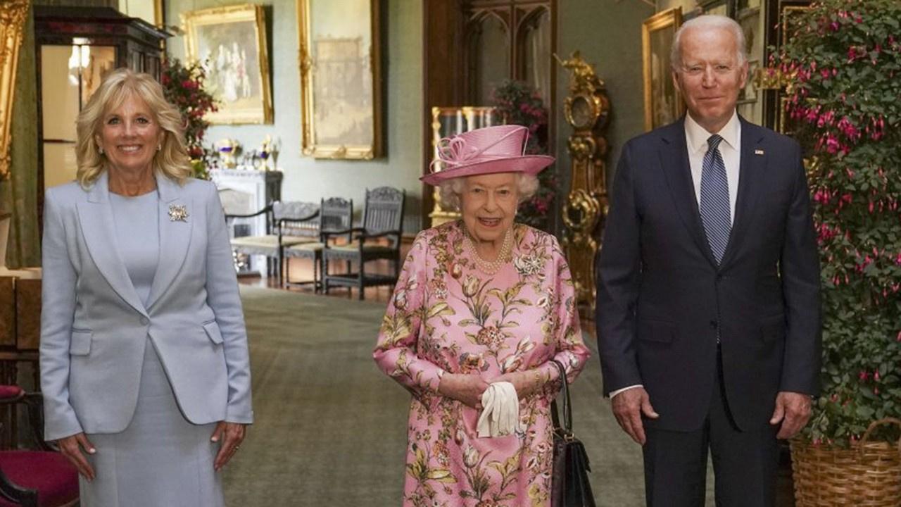 ABD Başkanı Biden, Kraliçe Elizabeth ile görüştü