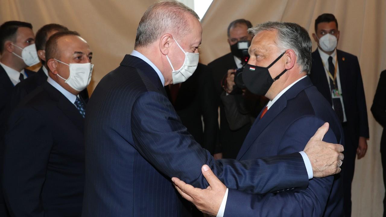 Erdoğan Brüksel'de temaslarına başladı
