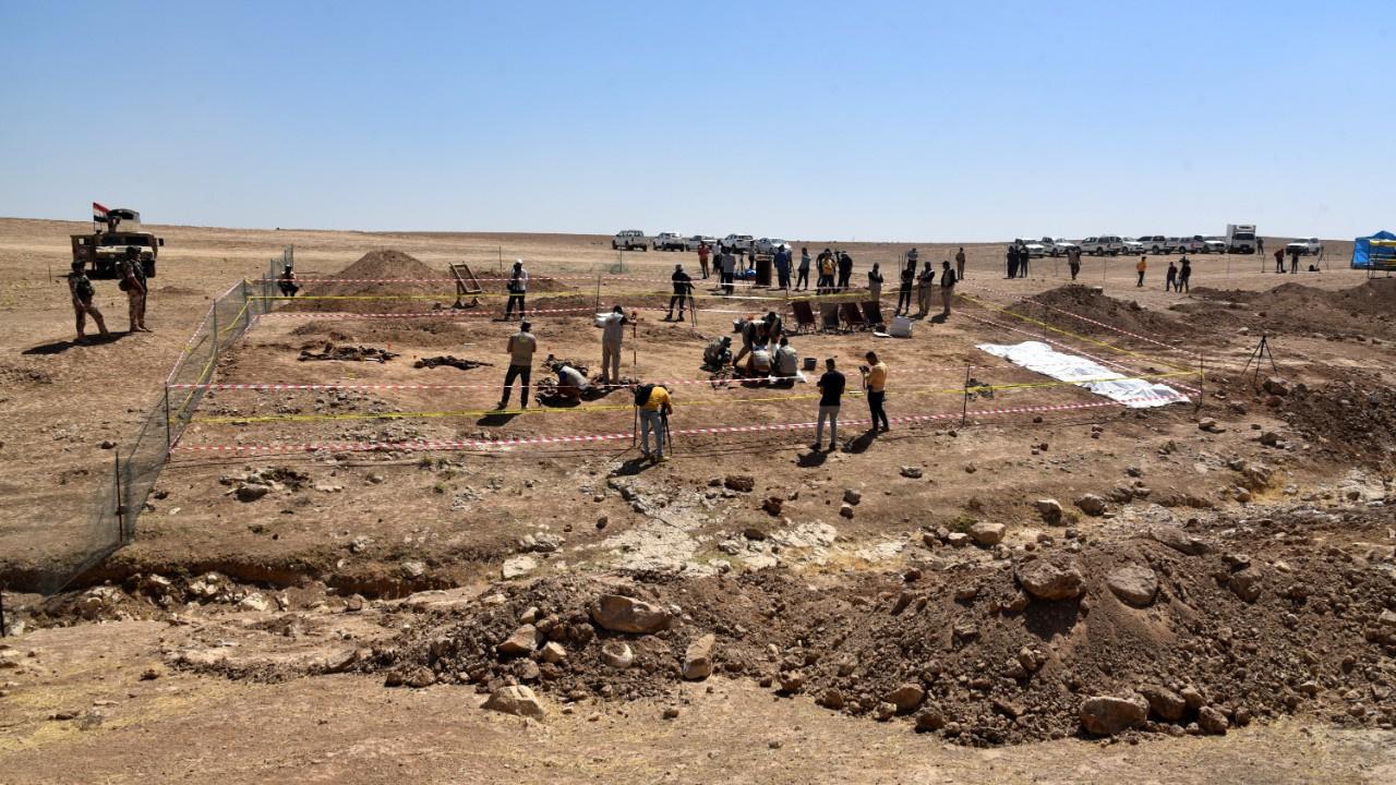 Toplu mezarlık ortaya çıkarıldı... 123 kişiyi...