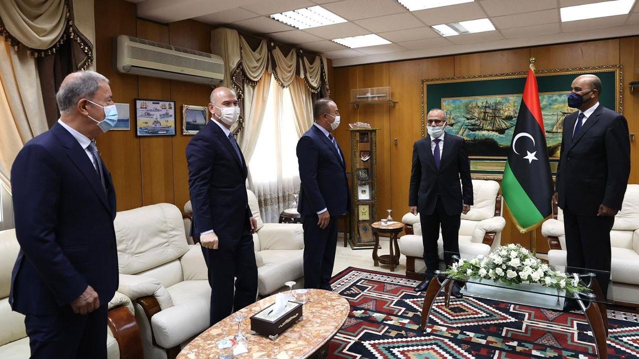 """""""Tek yumruk, tek vücut Libya ile beraberiz"""""""
