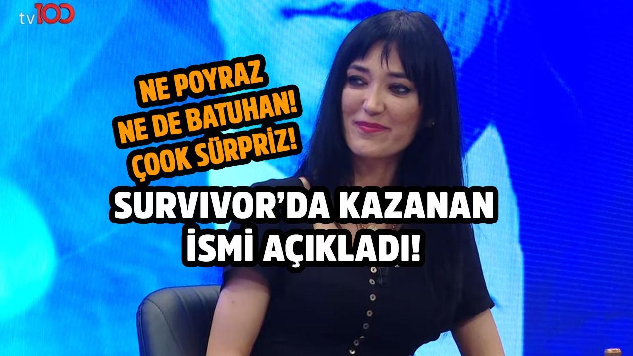İnisiyatör Meral Çolak Survivor'ı kazanacak ismi açıkladı! Sürpriz!