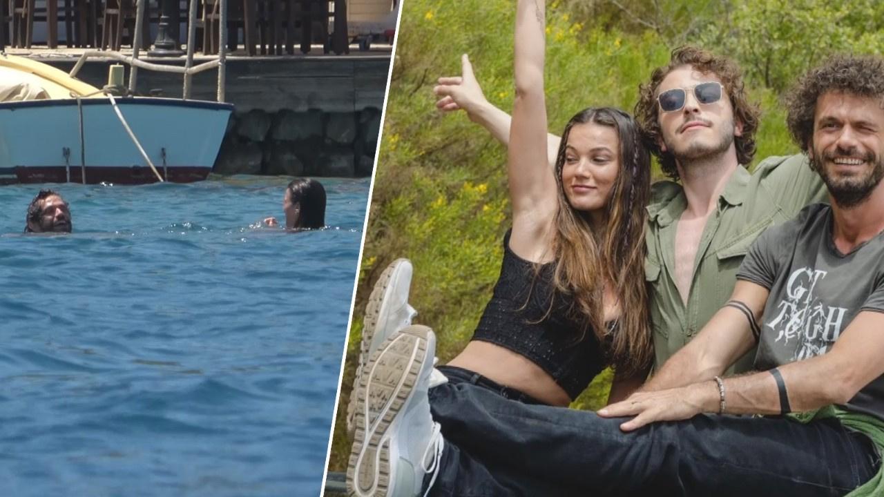Pınar Deniz ile Yiğit Kirazcı dudak dudağa...
