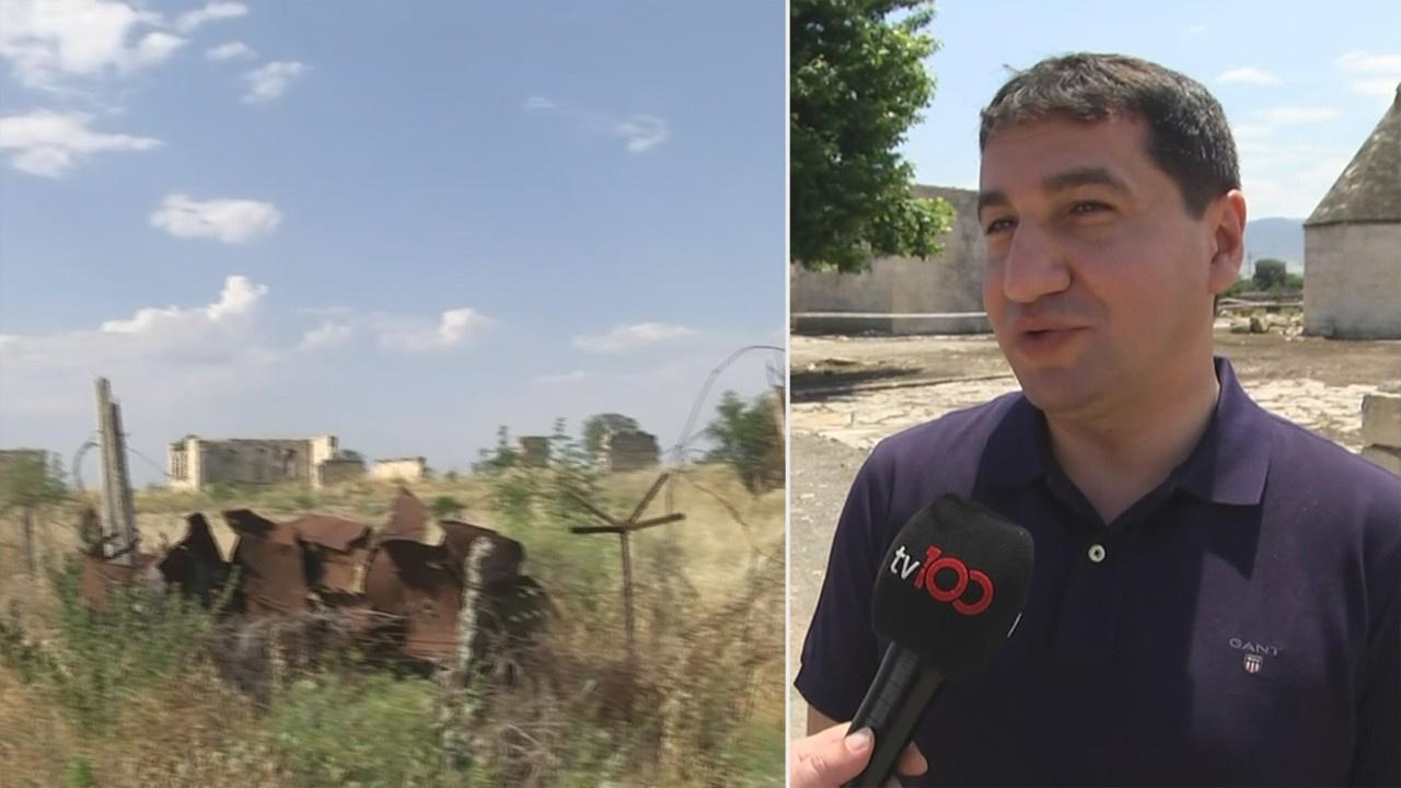 Ermenistan çekildi! Geride mayınlar kaldı...