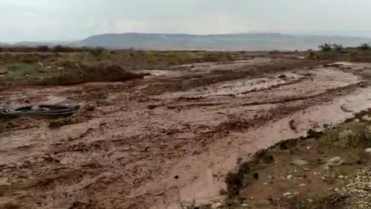 Dereler taştı... Tarım arazileri sele teslim oldu!