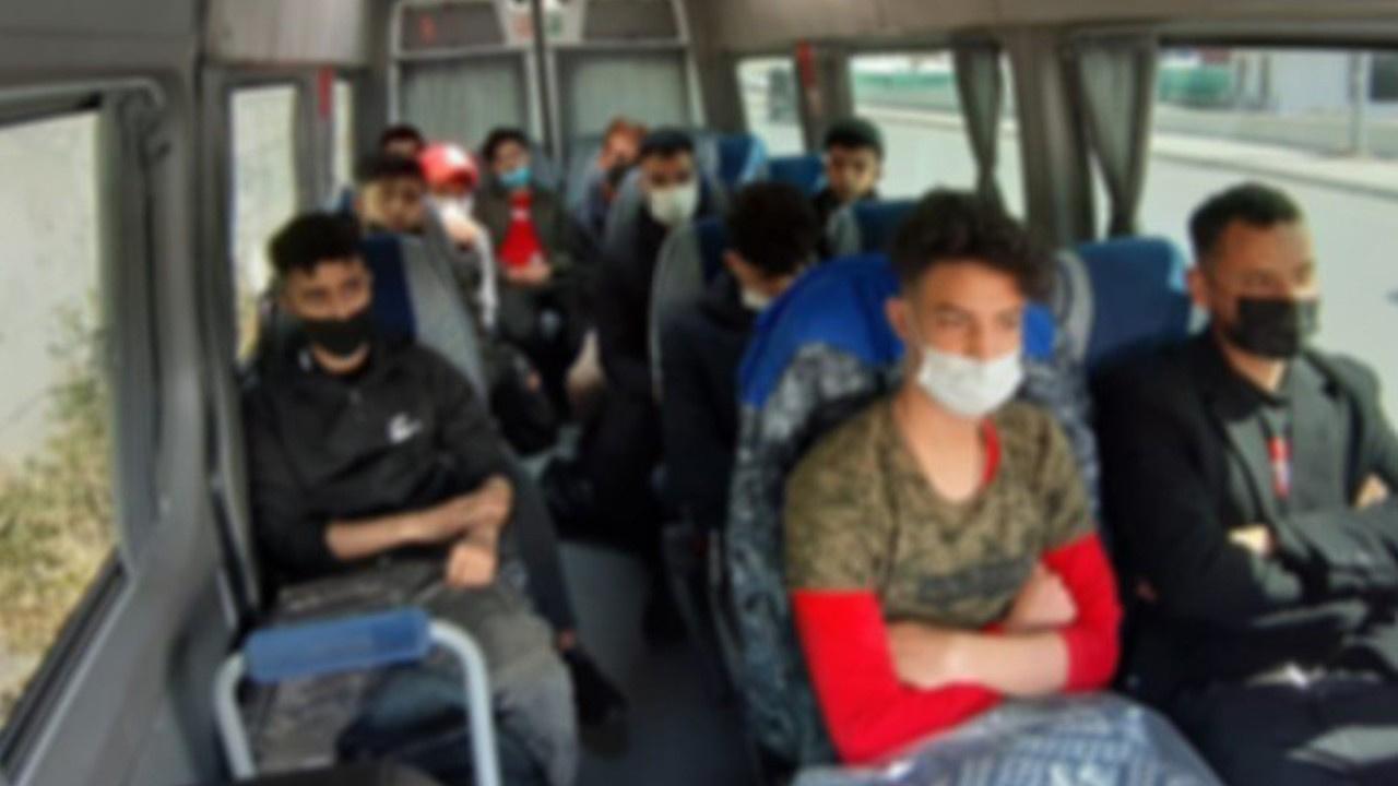 Göçmen kaçakçılığı operasyonu: 32 gözaltı