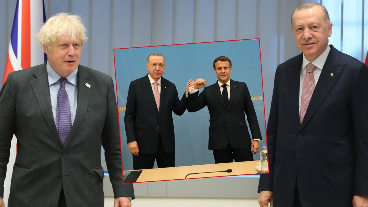 NATO'da Cumhurbaşkanı Erdoğan'dan diplomasi trafiği
