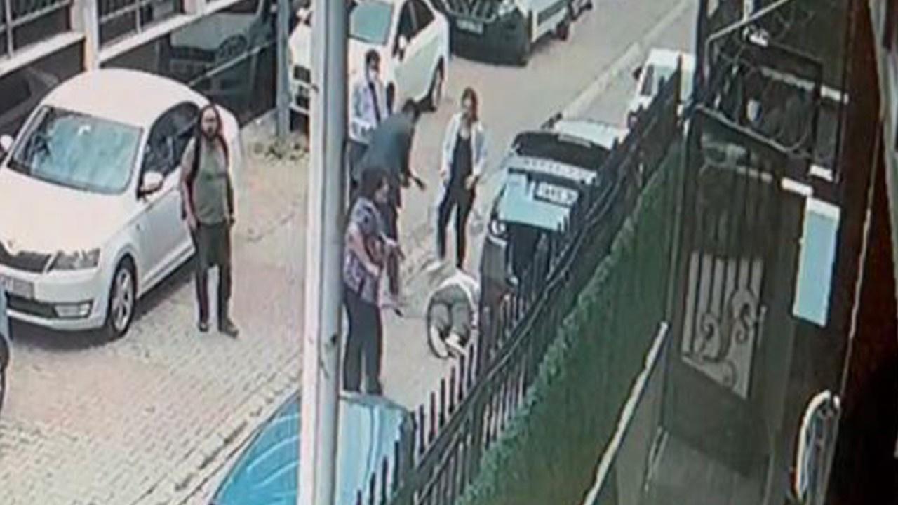 Ataşehir'deki cinayetin görüntüsü ortaya çıktı
