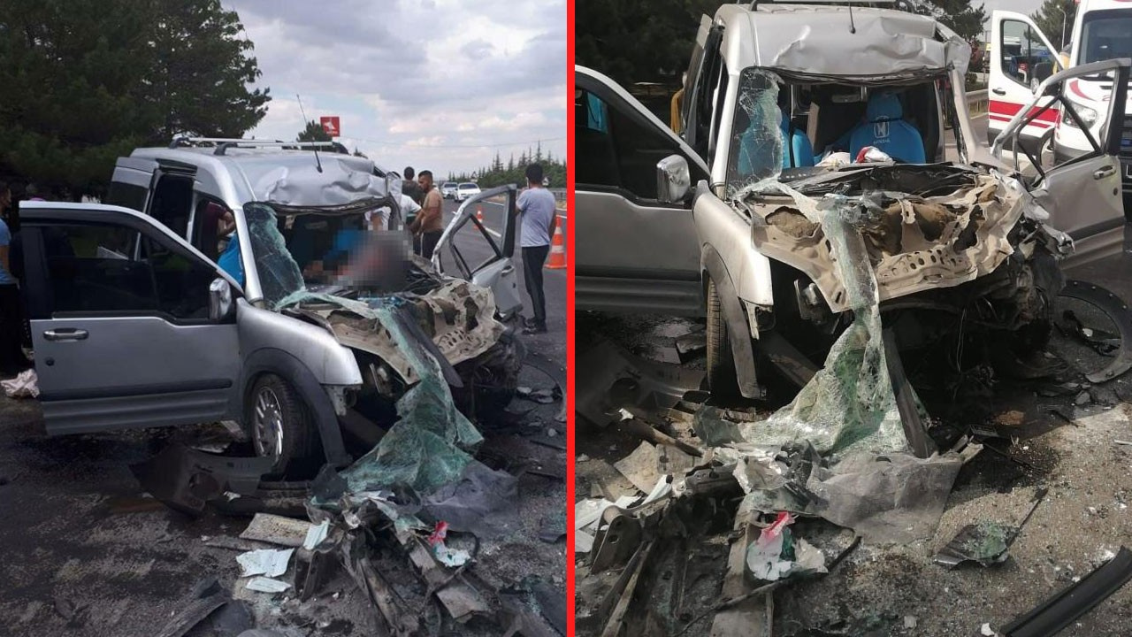 Eskişehir'de feci kaza! Anne ve kızı kurtulamadı!