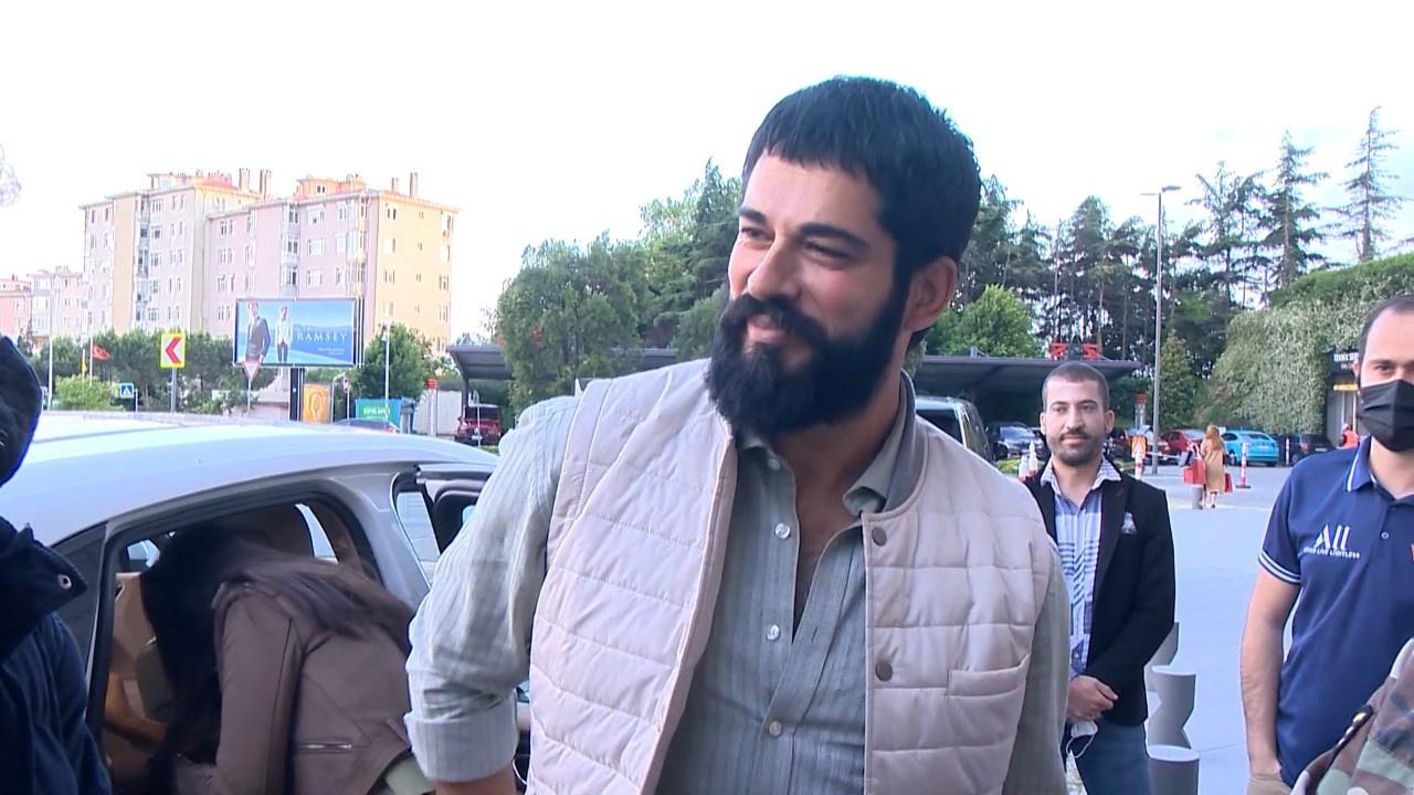 """Karan'dan ilk röportaj... Burak Özçivit oğluna """"bir kere de baba de"""" dedi"""
