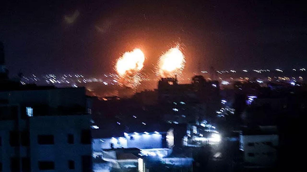 İsrail'den Gazze şeridine hain saldırı
