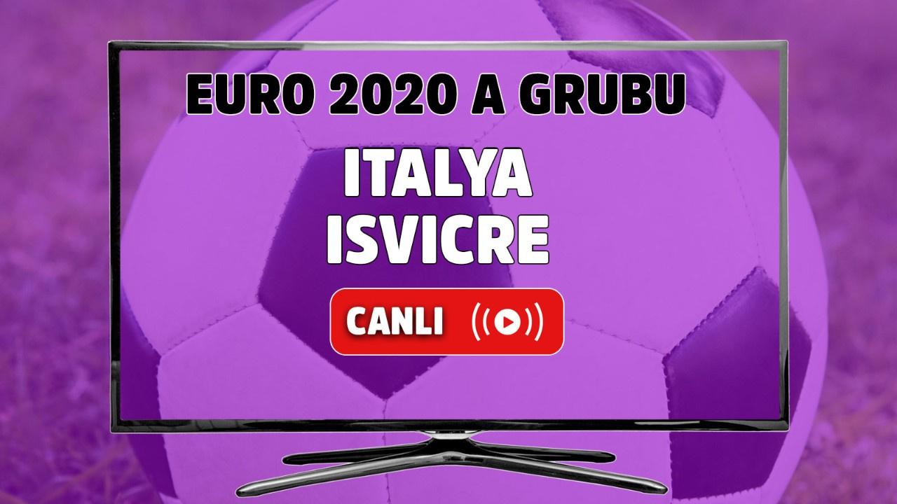 İtalya - İsviçre Canlı maç izle