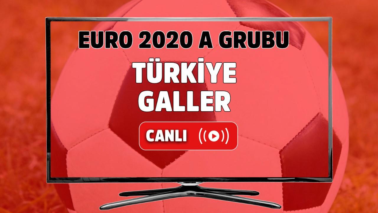Türkiye - Galler Canlı maç izle
