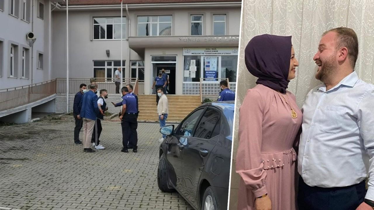 Bursa'da lisede kadın cinayeti...