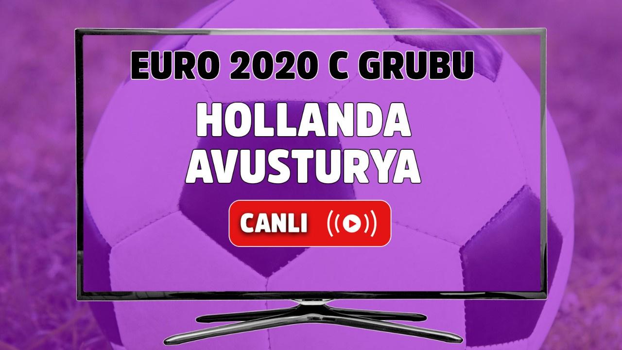 Hollanda - Avusturya Canlı maç izle