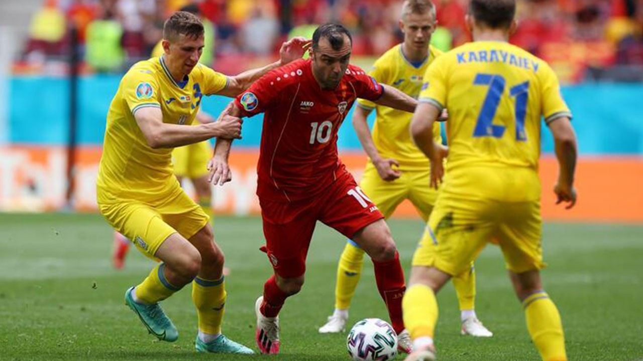 Ukrayna 2 Makedonya 1