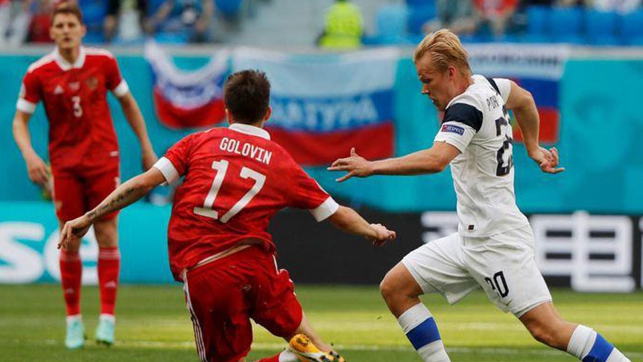 Finlandiya 0 Rusya 1