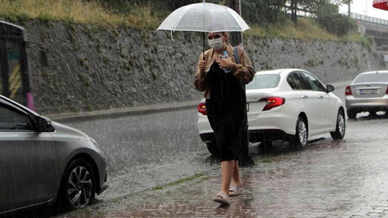Dikkat! Meteoroloji uyardı! İstanbul dahil 7 il