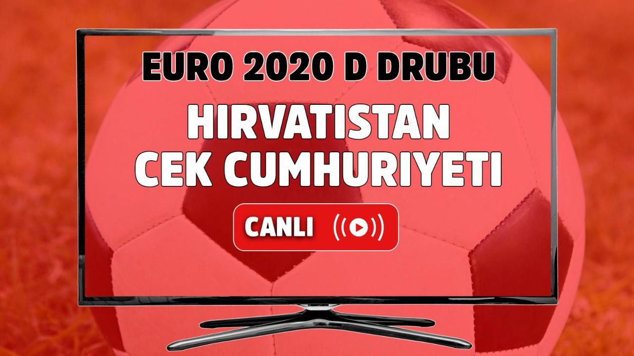 Hırvastistan - Çek Cumhuriyeti Canlı maç izle