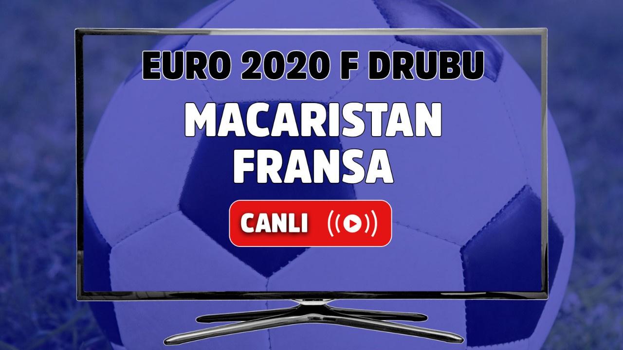 Macaristan - Fransa Canlı maç izle