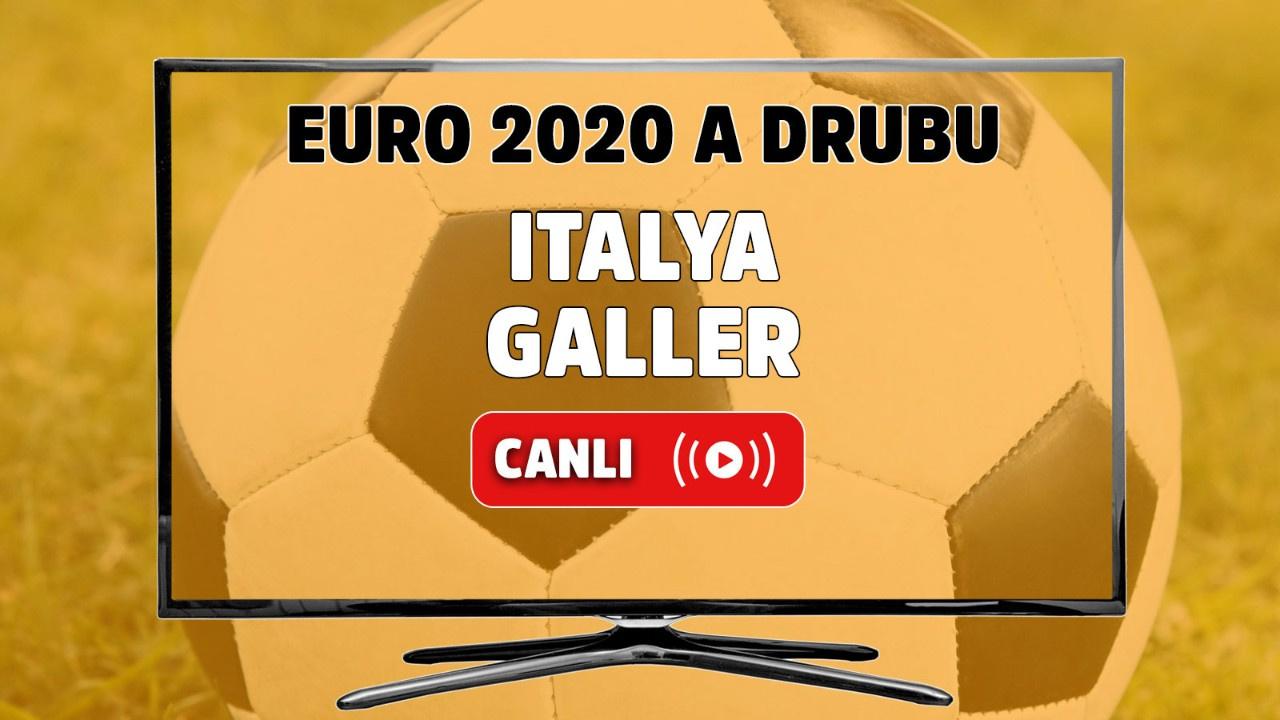 İtalya - Galler Canlı maç izle